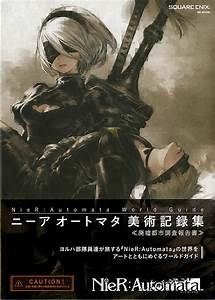 Buy Illustration Book NieR Automata World Guide