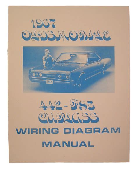 wiring diagram manual 1967 cutlass 442 fusick automotive