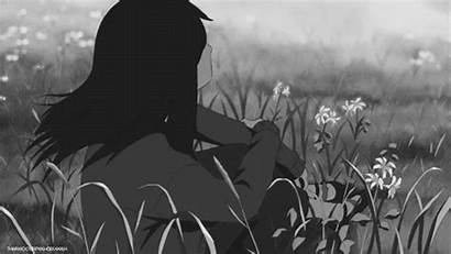 Lonely Anime Sad Aesthetic Alone Crying Gifs