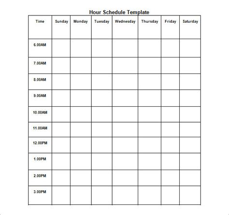 Hourly Schedule Template  35+ Free Word, Excel, Pdf. Air Force Academy Graduation 2017. New Hire Packet Template. Printable Birthday Invitations For Girl. Easter Wood Signs. Office Supply List Template. Baby Shower Tag Template. Auto Repair Invoice Template. Resume Curriculum Vitae Template