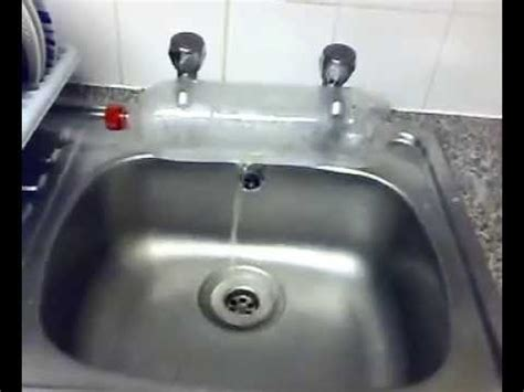 mix water   separate taps  hot cold water youtube