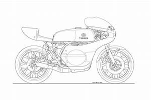 Photos: Some Classic Motorcycle Line Art Drawings ...