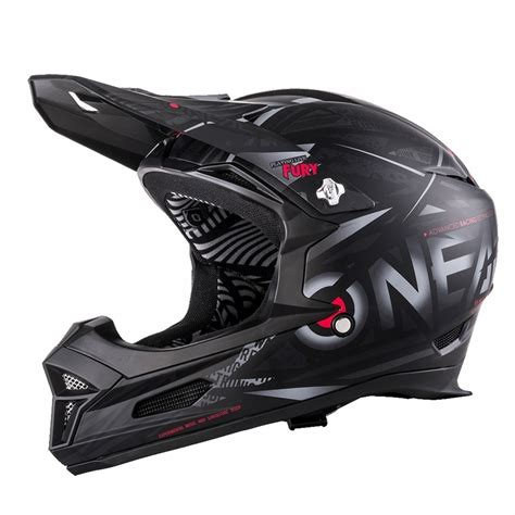downhill helm mit brille oneal fury synthy downhill helm mit two x race brille