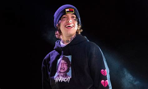 lil xan announces hes     father