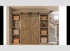 closet barn doors YouTube