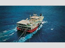High capacity marine seismic vessel Ramform Viking PGS