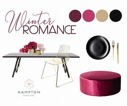 Winter Romance Inspiration Hamptoneventhire Styling Guide