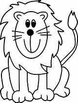Coloring Pages Zoo Lion Animal Printable Narnia Den Animals Easy Face Wardrobe Lions Clipartmag Unique Daniel Preschool Sheets Drawing Getdrawings sketch template