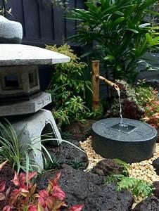 Pflanzen Für Japanischen Garten : japanischer garten garten gartengestaltung brunnen ~ Lizthompson.info Haus und Dekorationen