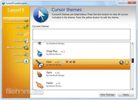 Cursorfx 2.01 Download For Windows / Filehorse.com