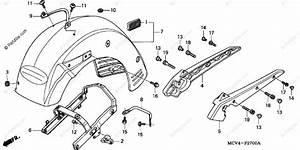 Honda Vtx 1800 Engine Diagram : honda motorcycle 2003 oem parts diagram for rear fender ~ A.2002-acura-tl-radio.info Haus und Dekorationen