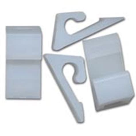 Horizontal Sliding Clip For Vinyl Siding Uv Plastic 100bag