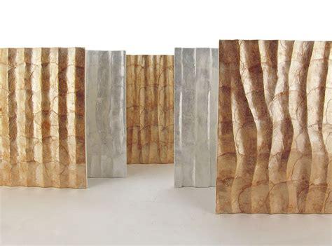 wall materials go elegant and environment friendly with capiz shell wall coverings la casa deco