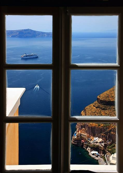 Ocean View Santorini Greece Photo Via Besttravelphotos