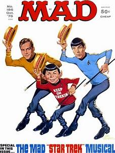 Watch 'Star Blecch' The Animated Mad Star Trek 2009 Parody ...