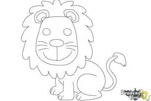 How to Draw a Easy Lion for Kids