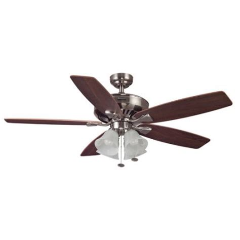 Honeywell Ceiling Fan Remote 40011 Not Working by 52 Quot Honeywell Hamilton Ceiling Fan Brushed Nickel