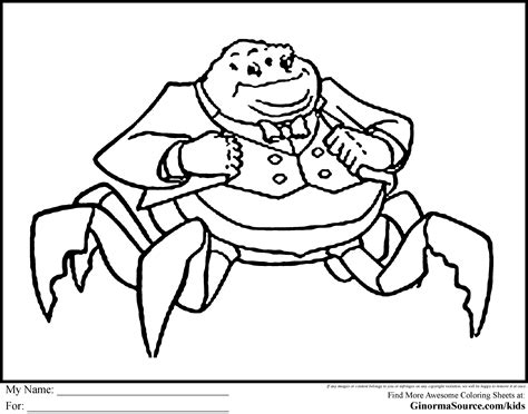 Monsters Inc Coloring Pages Waternoose