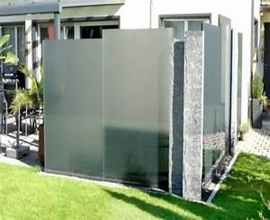 brauche ideen fr sichtschutz seite 1 terrasse amp balkon With whirlpool garten mit balkon sichtschutz glas alu