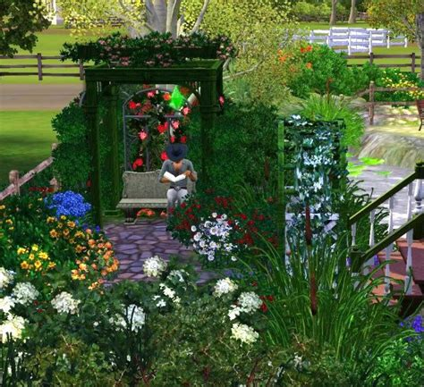 Sims 3 Garden Design Ideas