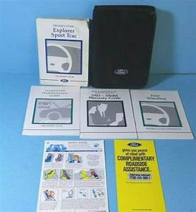 01 2001 Ford Explorer Sport Trac Owners Manual