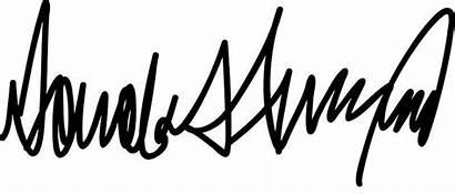 Signatures Celebrity Trump Signature Donald Pens Etc