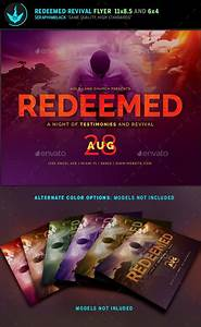 free church revival flyer template - redeemed revival church flyer template beautiful flyer