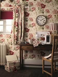 Laura Ashley Garden : peony print amethyst cranberry laura ashley blog ~ Sanjose-hotels-ca.com Haus und Dekorationen