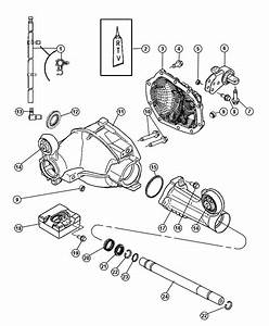 Jeep Grand Cherokee Damper  Axle    Axle Ratio - 3 55  Axle Ratio - 3 07     Dmm