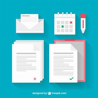 Document Vectors Documents Vector Illustrations