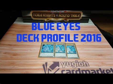 Yugioh Blue Eyes BlauÄugig Deck Profile Deutsch [hd] Youtube