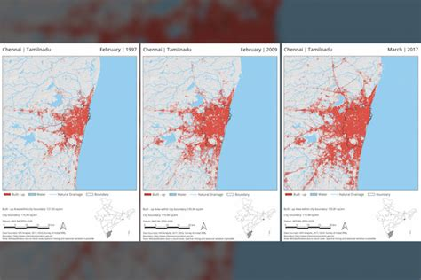 mapping  growth  kochi mumbai  chennai