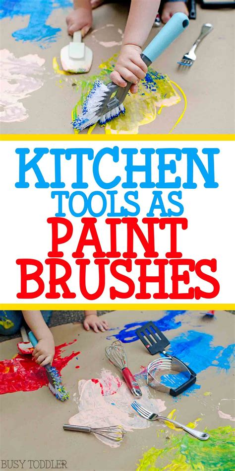 kitchen tools as paint brushes process 681 | 49035029104a20a7b9eef21b21f0717e
