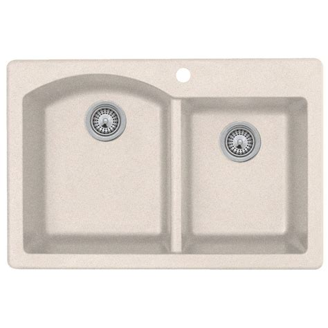 swanstone kitchen sinks home depot swanstone drop in bowl kitchen sink granito