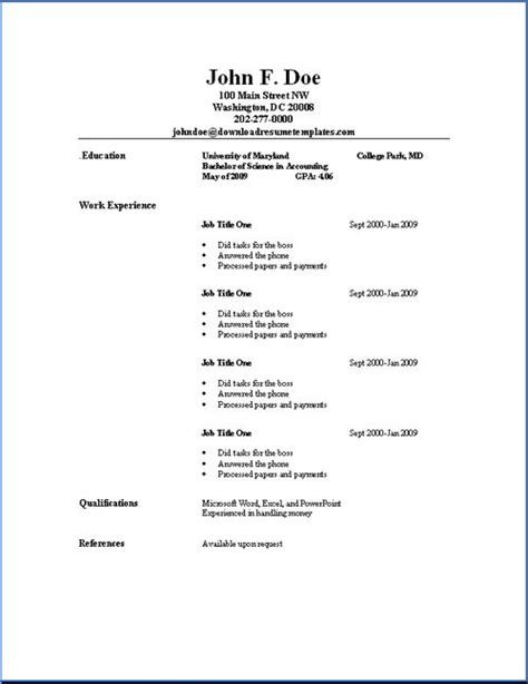 college student resume images  pinterest