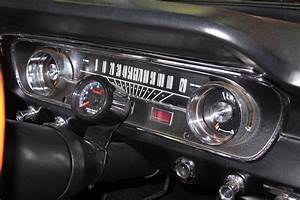 Now 1965 Mustang Owners With The  U201cfalcon U201d Style Gauge