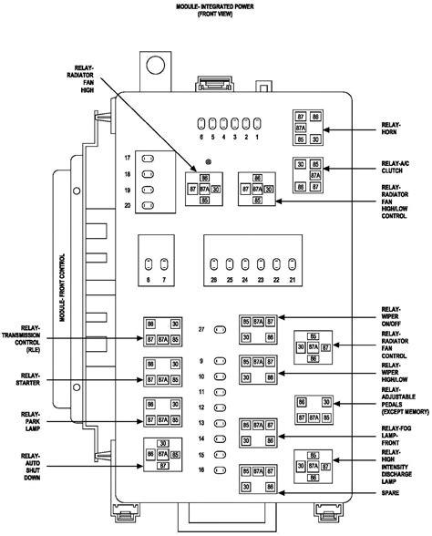 Dodge Magnum Wiring Harnes Diagram by 05 Dodge Magnum Fuse Box Diagram Dodge Wiring Diagram Images