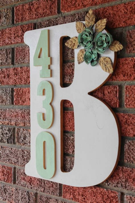 fun  functional ways  display house address numbers zing blog  quicken loans zing