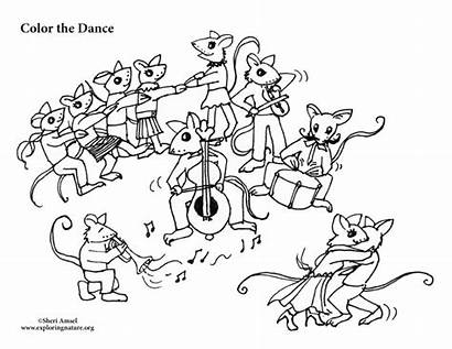 Dance Coloring Party Mouse Sponsors Wonderful Support