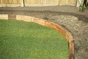 Curved Raised Flower Bed