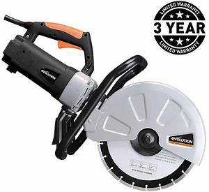 15 Amp Portable Concrete Cut Off Saw Corded Power Tool 12 U0026quot  Blade Electric Cutoff 671495058472