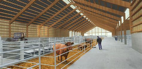 le bureau lyon bâtiment d élevage expérimental laqueuille 63 fabriques