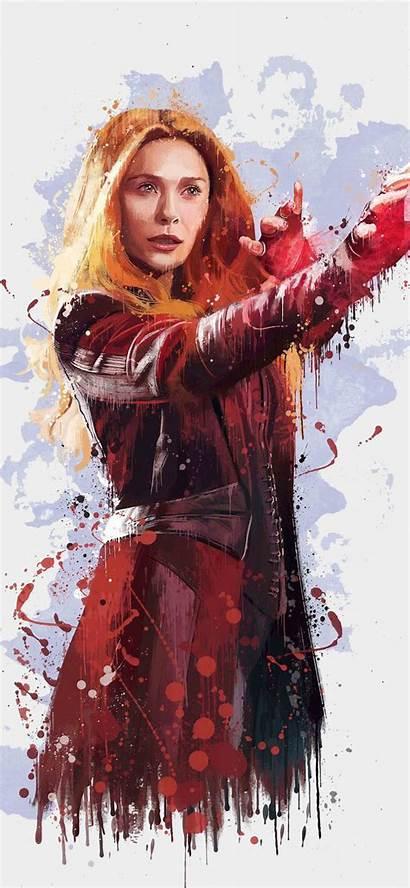 Scarlet Witch Avengers Infinity War 4k Artwork