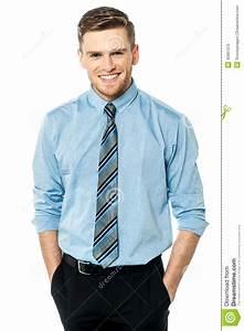 Studio Shot Of Smart Corporate Male Model Stock Photo ...
