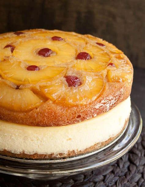 pineapple upside  cheesecake cake recipe