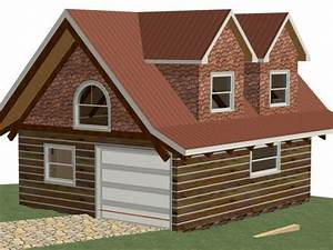 two story garages kits two story detached garage hip roof With 2 car garage with loft kit