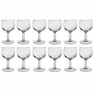 Lot De Vaisselle Pas Cher : verre a pied en verre pas cher vaisselle maison ~ Teatrodelosmanantiales.com Idées de Décoration