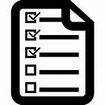 Checklist Icon Clipart Transparent Webstockreview 2021