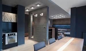 Spot Plafond Salon : inspiration cuisine rangement ~ Edinachiropracticcenter.com Idées de Décoration
