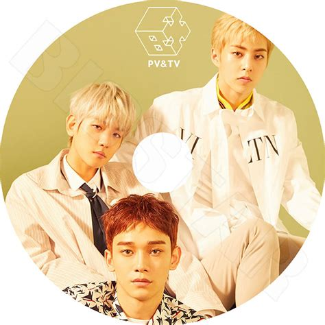 exo cbx for you k pop dvd exo cbx 2016 pv tv collection hey mama the